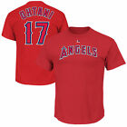 Shohei Ohtani #17 Los Angeles Angels Majestic Men's Red Name & Number T-Shirt on Ebay