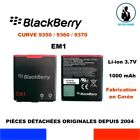 BATTERIE ORIGINALE BLACKBERRY EM1 E-M1 1000mAh 3,7Wh 3,7V CURVE 9350 9360 9370