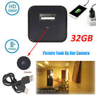 Mini USB Wall Charger Adapter Motion Hidden Camera HD 1080P Security US Stock