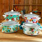The Pioneer Woman 6 Quart Portable Slow Cooker Vintage Floral cooker