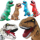Inflatable Dinosaur T REX Costume Fantasia Adults Halloween Cosplay Costume new