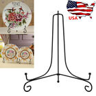 "4""-12"" Iron Easel Bowl Plate Art Photo Picture Frame Holder Book Display Stand"