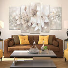 5 Posters Modern Abstract Flower Print Pictures Canvas Wall Art Floral Unframed <br/> Fast Free Post*High Quality*Original*Art Deco*Long37cm