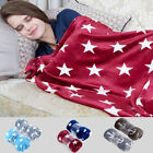 Beauty Printed Soft Lightweight Fleece Throw Blanket For Sofa Bed 50 x 60 inches image