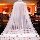 US Lace Bed Mosquito Netting Mesh Canopy Princess Round Dome Bedding Romantic    image