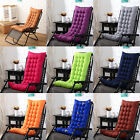 Chair Cushion Tufted Deck Chaise Padding For Outdoor Patio Pool Recliner USStock