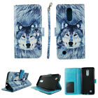 Folio Case Wallet For LG K20 LG LV5 Harmony Kickstand PU Leather ID Slot Cover