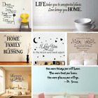 30 Styles Removable Word Art Vinyl Wall Stickers Mural Home