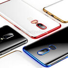 Luxury Ultra Slim Shockproof Silicone Clear Case Cover for OnePlus 6