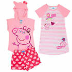 Peppa Pig Nightgown or Peppa Pig Pajamas W/ Plush Shorts 5 - 6 - 6X NWT Or NWOT
