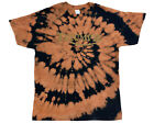 Triumph Motorcycles Tie Dye T-Shirt Sizes M, L, Bleached Distressed Vintage Look $12.99 USD on eBay