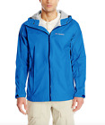 Columbia Mens evaPOURation Jacket size XL Hooded Blue Rain C