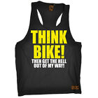 Ride Like The Wind Think Bike Cycling bicycle cycle funnyáBirthdayáTANK TOP