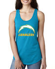 NFL Football Chargers, Titans, Lions + Panthers Next Level Ideal Racerback Tanks $13.95 USD on eBay