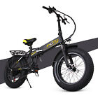 ENGWE Snow eBike 48V 8Ah Folding Fat Tire Electric Mountain Bike with 6 Speeds