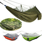 Portable Outdoor Camping Mosquito Net Nylon Hammock Hanging Bed Sleeping Swing A