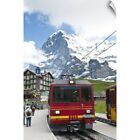 jungfrau region switzerland - Wall Decal entitled Jungfrau Region, Switzerland. Jungfrau Massif From Kleine