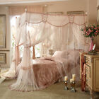 Mosquito bar Mosquito net Bed net valance metal steel frame boutique bed canopy image