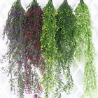 Artificial Fake Hanging Flower Vine Plant Wedding Indoor Outdoor Garden Decor