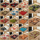 LARGE EXTRA LARGE MODERN  MULTI COLOR HIGH QUALITY FLOWER DESIGN CLEARANCE RUG