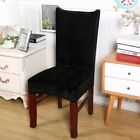 Removable Stretch Slipcovers Short Dining Room Stool Seat Chair Cover Wedding