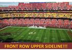 1 DENVER BRONCOS @ vs WASHINGTON REDSKINS PRESEASON 8/24 - FRONT ROW UPPER!!! on eBay