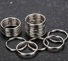 Kyпить Wholesale Silver Tone Key Rings Chains Split Ring Hoop Metal Loop Accessory 25mm на еВаy.соm