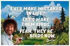 108376 Bob Ross Ever Make Mistakes In Life Paiinting Decor WALL PRINT POSTER UK