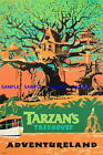 100255 Tarzan's Treehouse Collector Decor WALL PRINT POSTER UK