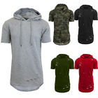 USA Mens Hoodie T Shirt Casual Summer Blouse Sport Gym Sweater Tees Tops