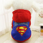 Small Dog Cat Hoodie Sweater Warm Pet Puppy Jumper Clothing Coat Jacket Outfit
