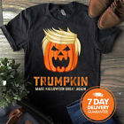 Trumpkin Make Halloween Great Again Funny Trump Gildan T-Shirt Black Men S-3XL