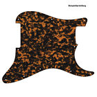 PICKGUARD für US / MEXICO STRAT Standard od. Floyd Rose Tremolo brown tiger