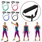 Elastic Resistance Band Pilates Latex Exercise Tube Gym Yoga Fitness Workout SP image