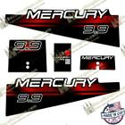 Mercury 1994-1998 Outboard Boat Engine Decals (Multiple HP) 3M Marine Grade
