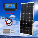100W 12V Solar Panel Starter Kit with 30A PWM Charge Controller RV Boat Off Grid