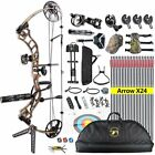Trigon 15-70LB COMPOUND BOW & ARROWS HUNTING TARGET ARCHERY CNC 19-30
