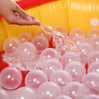 50pcs/lot Baby Safety Transparent White Plastic Pool Ocean Balls Funny Toy fS