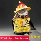 Cats outfit small Dog Puppy Cat Pet Costume Clothes Golden King Empire Cosplay C