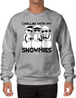 Chillin' With My Snowmies- Christmas Snowman Ugly Winter Santa  SWEATER