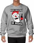 Merry Christmas I'm Drunk - Xmas Santa Beer Wine Party Ugly SWEATER