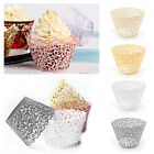 30/55X Filigree Vine Cupcake Wrappers Lace Case Laser Cut Party Wedding Birthday
