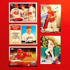 MIKE TROUT (5) Lot 2015-17 TOPPS CHROME, HERITAGE, BEST + Rookie of Year & MVP!