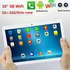 """10"""" Touch Tablet PC Android Octa Core 1G 16G HD 3G WiFi Dual SIM  Camera Pad GF"""