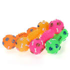 """4.9"""" Squeaky Vinyl Dog Toy Squeaker Dumbbell Shape Puppy Throw Fetch Play WONPET"""