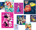 1PC SMALL PLUSH BLANKET ULTRASOFT PORTABLE BABY TODDLER Licensed Disney Product
