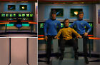 Poster Backdrop~star Trek~bridge For 1/6 Figure Kirk Spock Mccoy Scotty Khan Qmx