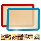 BBQ Silicone Baking Mat Cooking Mat Black Reusable Nonstick Sheet Oven Tray NEW