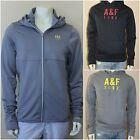 ABERCROMBIE & FITCH MEN`S A & F ACTIVE FULL ZIP HOODIE size L