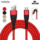 1~3M Braided USB Cable For iPhone 6 7 8 Android 2A Lightning Cable Fast Charging
